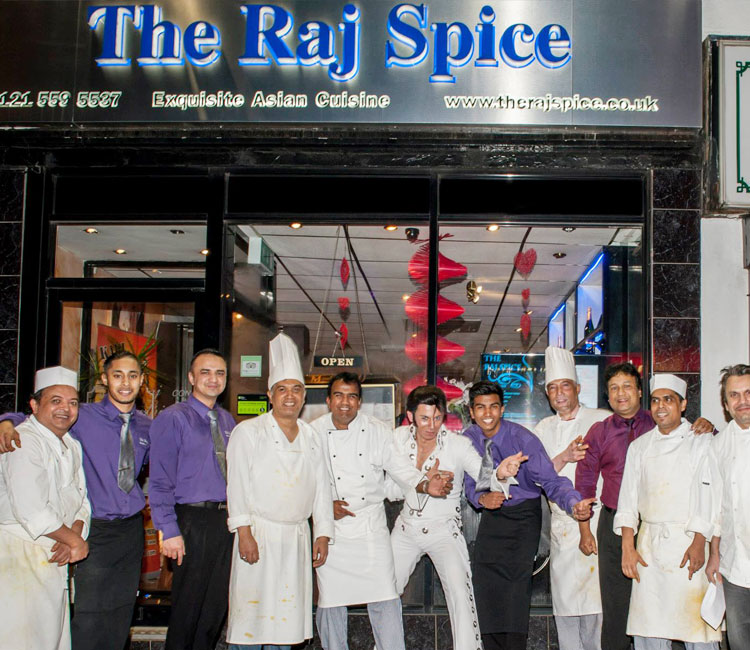 The Raj Spice Indian Restaurant and Takeaway in Rowley Regis
